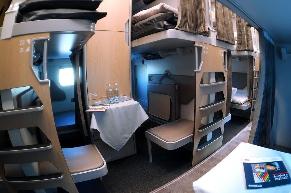 У каждого пассажира будет индивидуальное пространство.