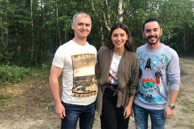Алексей Титовский, Регина Тодоренко и Тимур Родригез