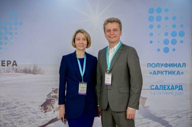Ольги Толстолесова и Антон Романов