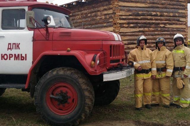 В Тюменской области появился еще один пост добровольной пожарной команды