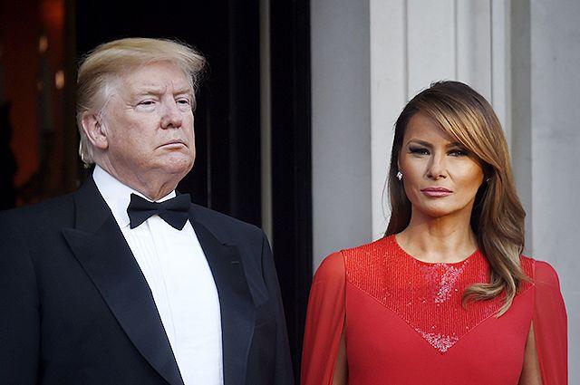 У Дональда Трампа и его жены Мелании Трамп обнаружили коронавирус