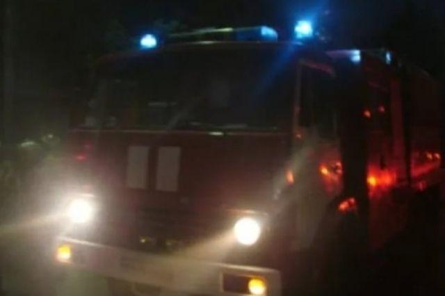 В Тюмени из горящей квартиры спасли малыша в памперсе