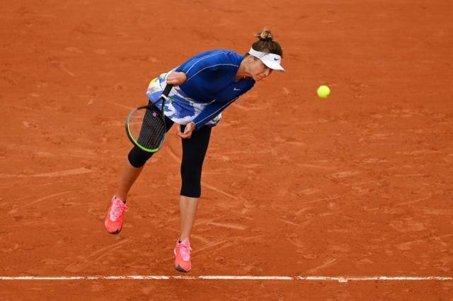 На турнире Ролан Гаррос определились две четвертьфинальные пары у женщин