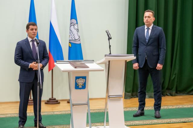 Дмитрий Артюхов и Андрей Воронов