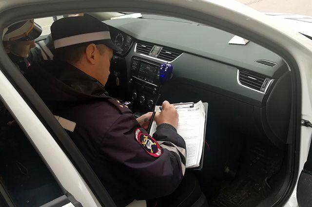 В Оренбурге пьяный мужчина управлял чужой машиной.
