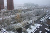 По прогнозам синоптиков, мокрый снег будет идти почти всю неделю.