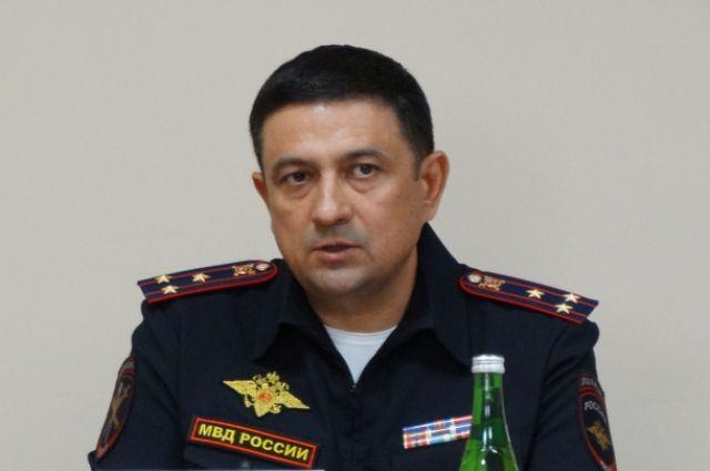 Полковник полиции Дамир Сатретдинов