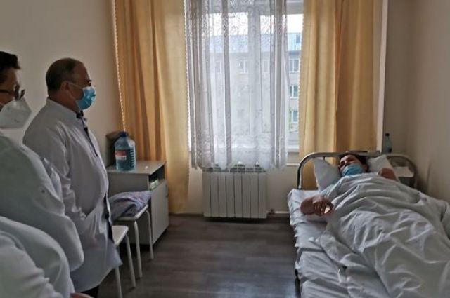 С 15 августа госпиталь был законсервирован в связи с уменьшением количества больных.