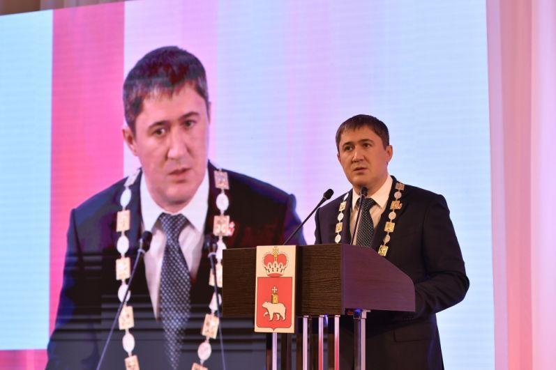 Церемония инаугурации губернатора Дмитрия Махонина.
