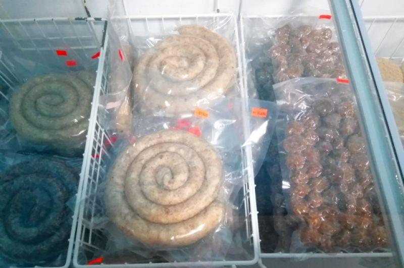 После приготовления продукция замораживается и расфасовывается в вакуумную упаковку