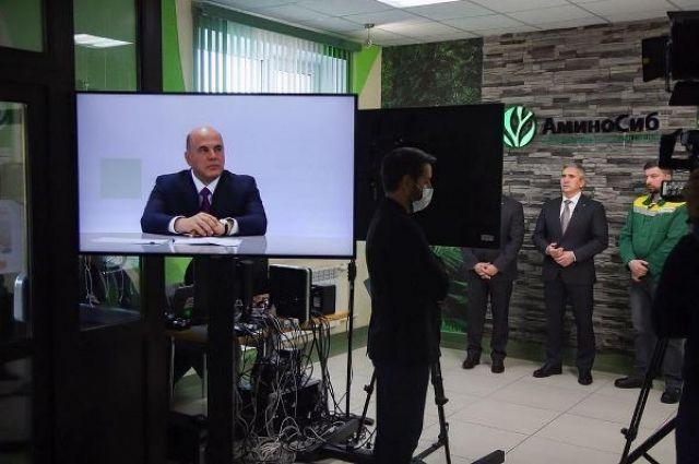 Губернатор Александр Моор доложил Михаилу Мишустину о развитии АПК региона