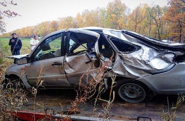 Женщина погибла после ДТП с вылетом в кювет в Башкирии