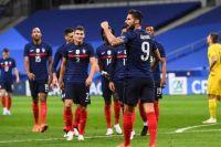 Сборная Украины по футболу с разгромным счетом проиграла французам