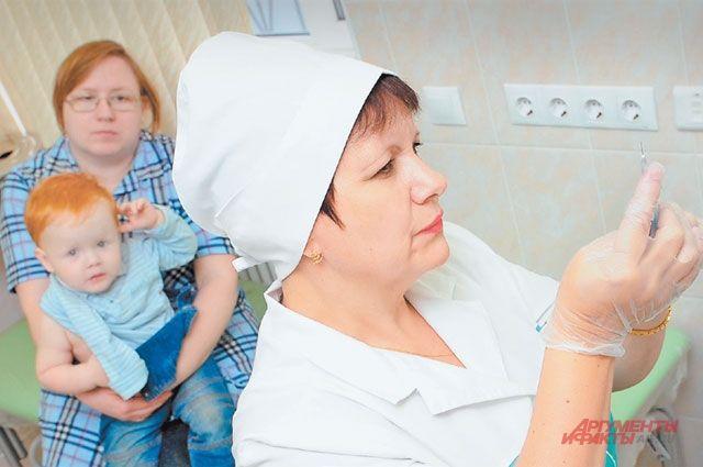Главный способ защиты детей от гриппа – вакцинация.