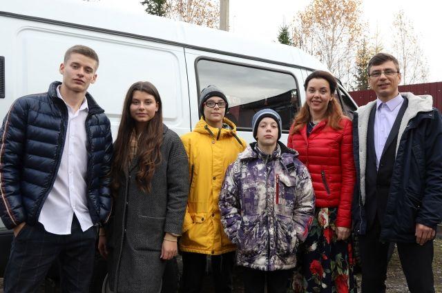 Моисеенко – победители Всероссийского конкурса «Семья года – 2020».