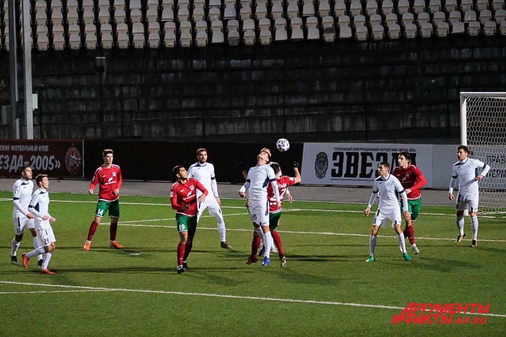 Футбольный матч «Звезда» – «Зенит» в Перми.
