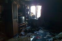 В Оренбурге на пожаре от отравления угарным газом погиб годовалый малыш.