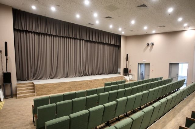 В здании разместится зрительный зал на 208 посадочных мест