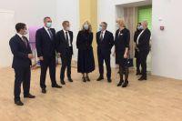 Татьяна Голикова и губернатор Александр Моор открыли в Тюмени новую школу