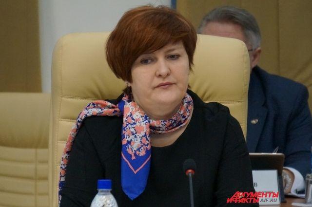 Чиновница переезжает в Москву.