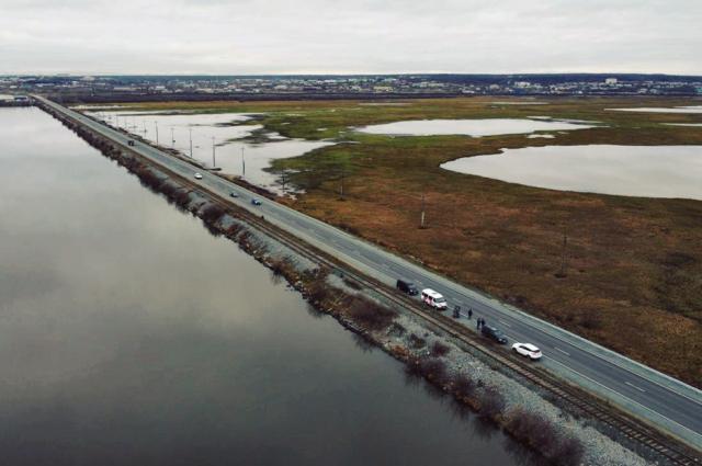 На автодороге Салехард – Лабытнанги завершен ремонт