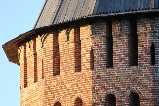 Крепостная стена - бренд Смоленска.
