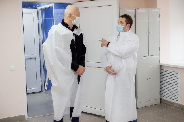 Главврач Роман Конев поблагодарил за помощь.