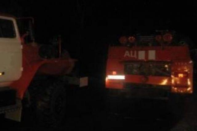 Возгорание надворной постройки в Оренбургском районе потушили до прибытия пожарных.