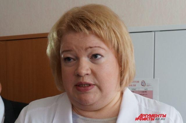 Оксана Мелехова в стабильном состоянии.