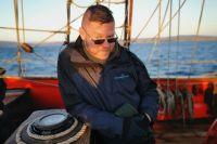 Воронежец путешествует на точной копии парусного фрегата «Штандарт».