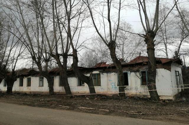 Заброшенное здание создавало угрозу жителям города Башкирии