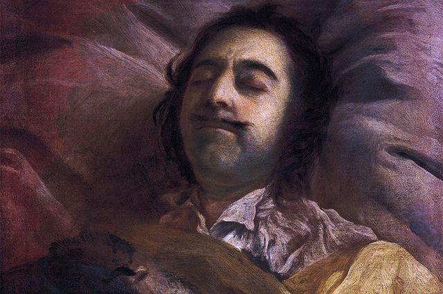 И. Н. Никитин «Пётр I на смертном одре».