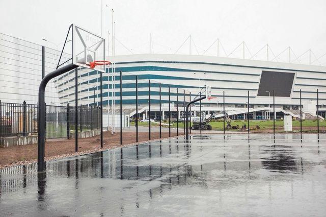 На территории стадиона «Калининград» откроется центр уличного баскетбола