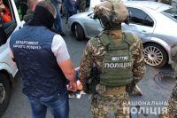 В центре Киева прошло задержание со стрельбой