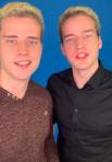 Кирилл и Артем Верзаковы, 23 года. 6,9 млн подписчиков, доход в TikTok — 2,56 млн рублей. Снимают развлекательные видео.