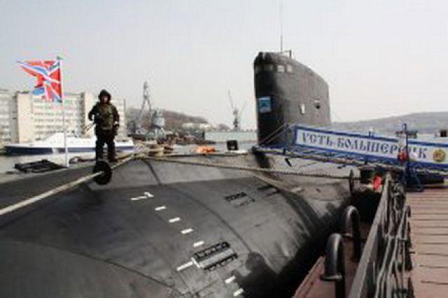 Подводная лодка «Б-494»-«Усть-Большерецк».
