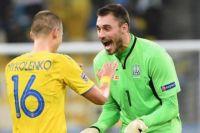 Бущан признан лучшим игроком матча Украины против Испании