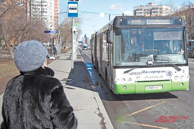 На ней будут останавливаться автобусы и троллейбусы