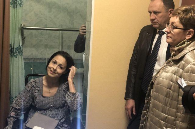 Ирина Башмакова в своей «умной» квартире