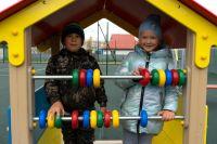 Для населения Селиярова открытие новой детской площадки – событие долгожданное