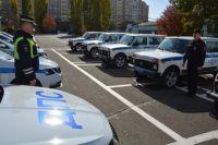 На баланс полиции Оренбуржья поступило 54 новых машины.