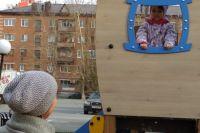 В Шахматном сквере Тюмени установлены новые площадки