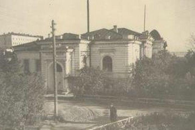 Дом Батюшкиных, 1954 год.