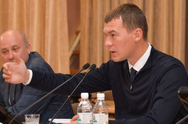 Михаил Дегтярев встретился с учителями и соцработниками в Хабаровске