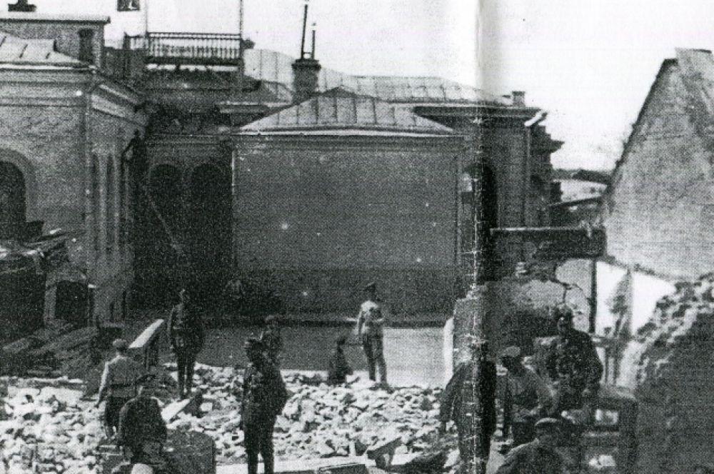 После покушения на Колчака, август 1919 года.