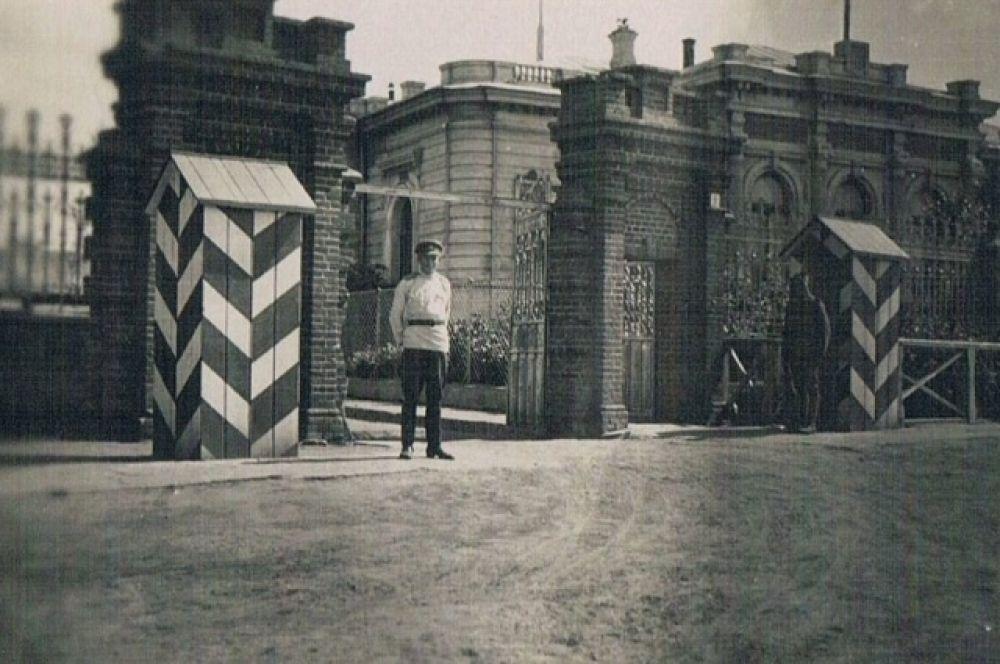 Дом Батюшкиных, лето 1919 года.