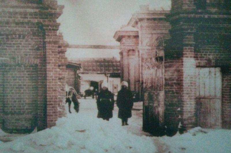 Караул у резиденции А. В. Колчака, январь 1919 года.