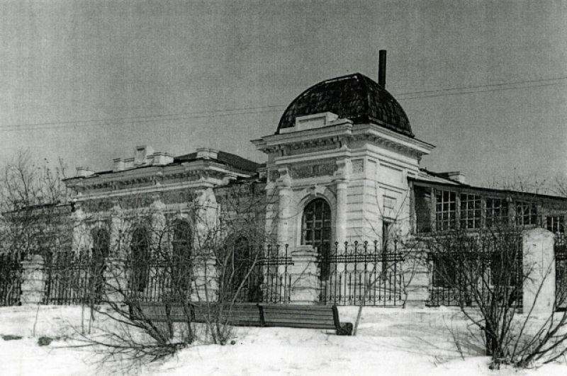 Дом Батюшкиных.
