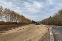 В Кстовском районе для Южного обхода расширяют дорогу.