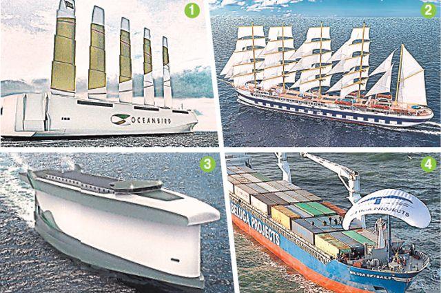 Зачем в Швеции собираются построить огромное парусное судно?